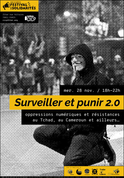 """Visuel de la soir�e """"surveiller et punir 2.0"""""""
